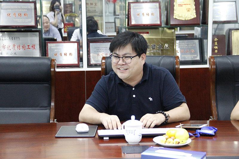 金诚集团领导一行莅临上海亚泰财富企业集团考察